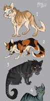 Cat Adoptables (REDUCED) [TWO MORE LEFT]