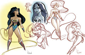 WonderWoman sketches