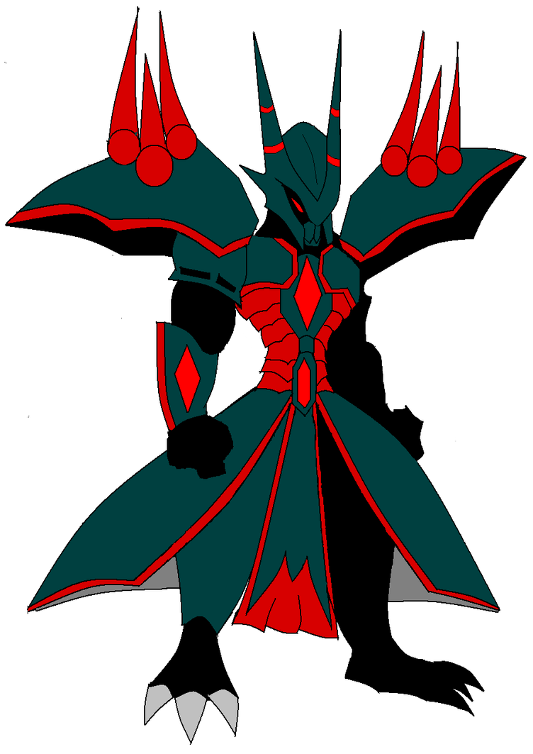AQW Armor Suggestion-Dark Demon Knight by vandalgion