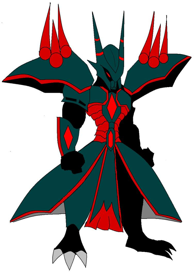 AQW Armor Suggestion-Dark Demon Knight by vandalgion