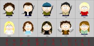 Supernatural South Park
