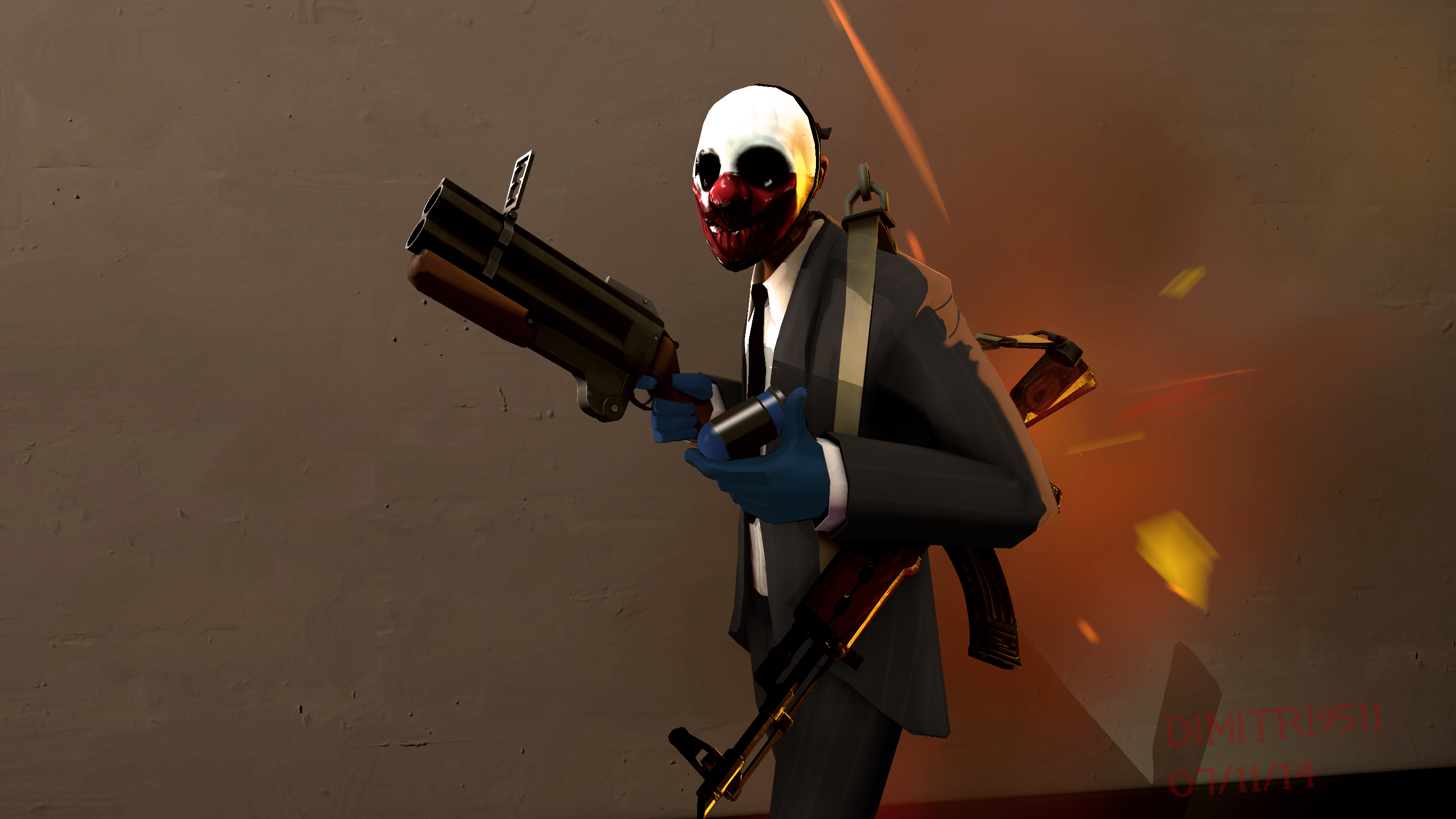 Wolf From Payday The Heist 2 By Dimitri9511