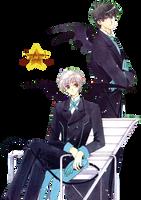 Touya y Yukito  - Render by SexyLiciouS21