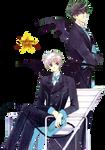 Touya y Yukito  - Render