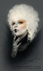 Effie Trinket Mockingjay inspired look