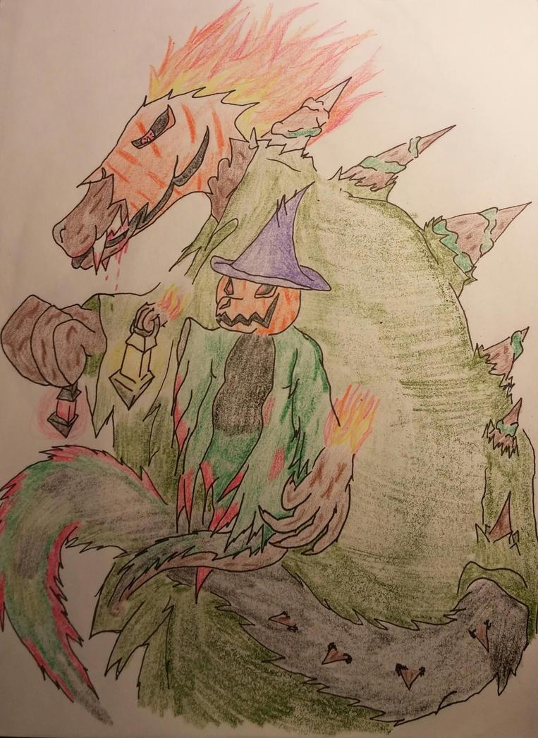 Guiding Light of Horror.. by Drakeflame13