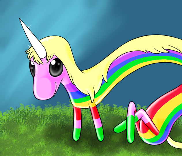 lady rainicorn by megadrivesonic on DeviantArt