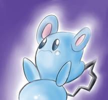Favorite Baby Pokemon azurill by megadrivesonic