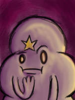Lumpy Space Princess 3ds by megadrivesonic