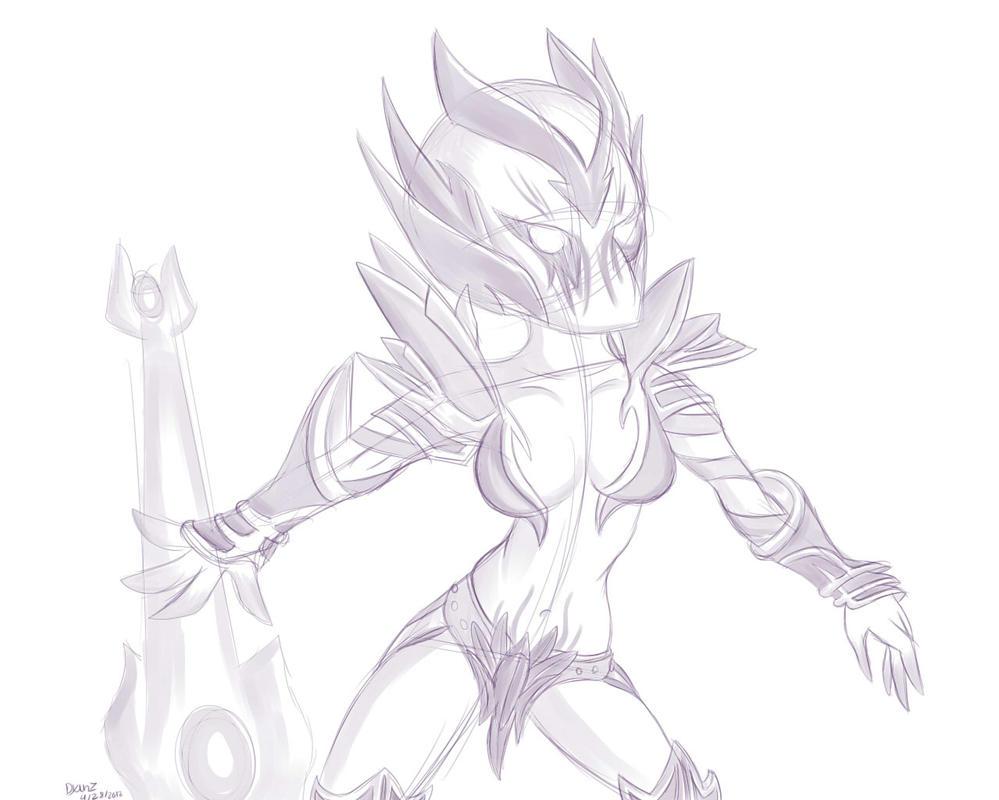 dota 2 vengeful spirit by megadrivesonic on deviantart