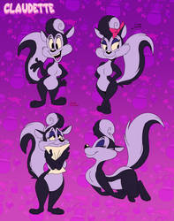 Claudette The Skunk