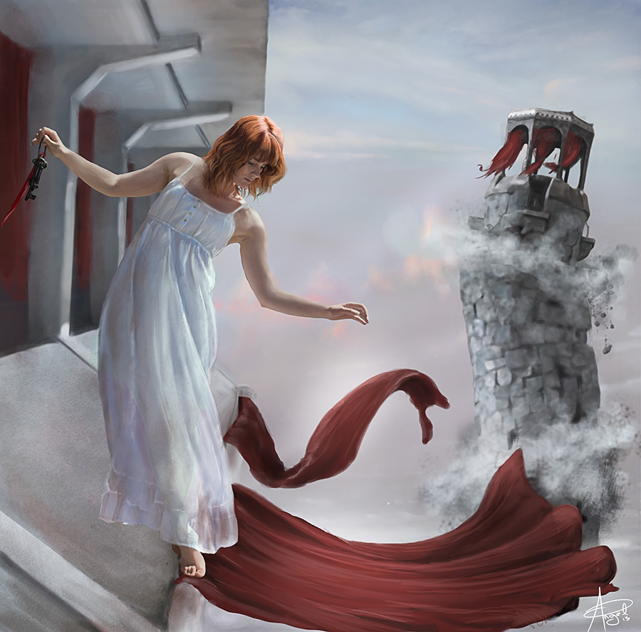 Dreaming in a falling Sky by archangel0