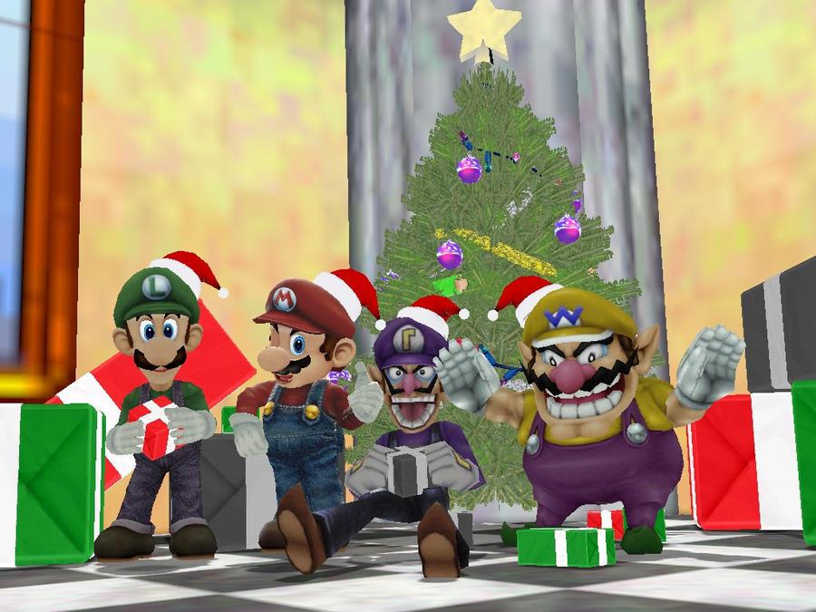 A Mario's Christmas by SuperSmashBrosGmod on DeviantArt