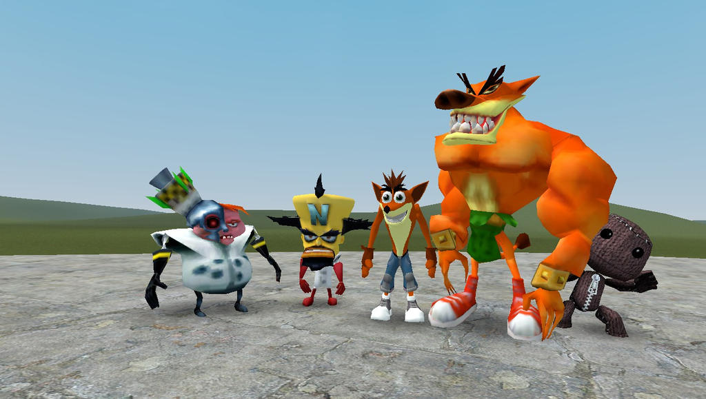 Crash bandicoot ragdolls by supersmashbrosgmod on deviantart crash bandicoot ragdolls by supersmashbrosgmod ccuart Image collections