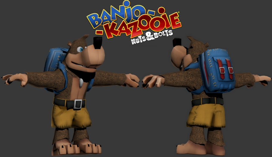 Banjo Kazooie: Nuts & Bolts models? - Developers - Facepunch