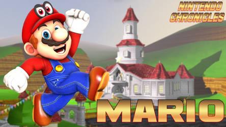 Mario Render - Nintendo Chronicles by SuperSmashBrosGmod