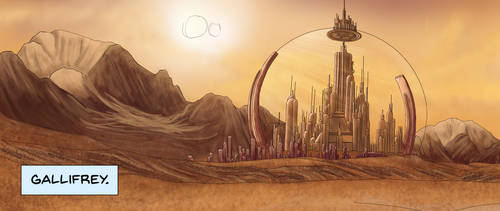Gallifrey - The Citadel of the Time Lords by carenrose