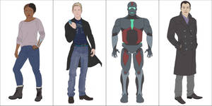 Superhero Story Character Design - 12/2015