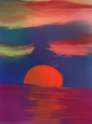 Sunset Color Sketch