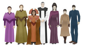 Character Design - Time Lords and Vulcans