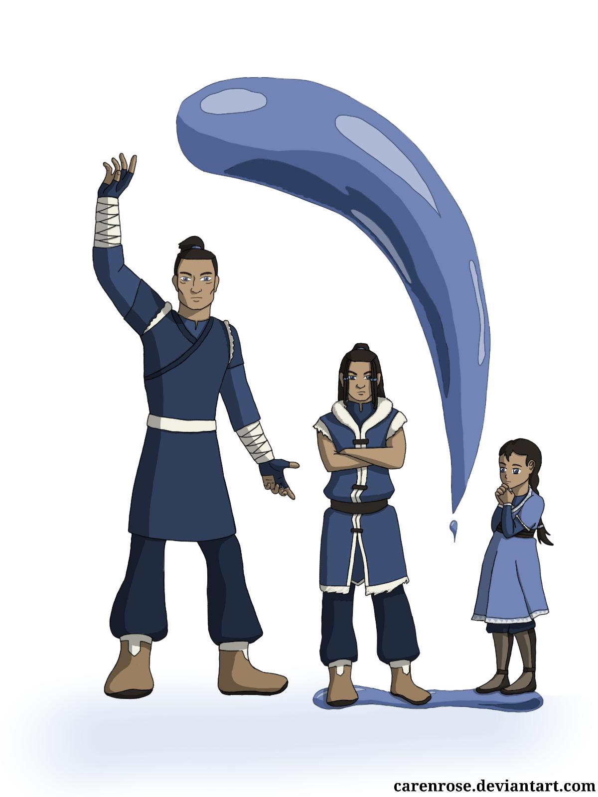 Waterbenders - Hanro, Nanuk, and Miki