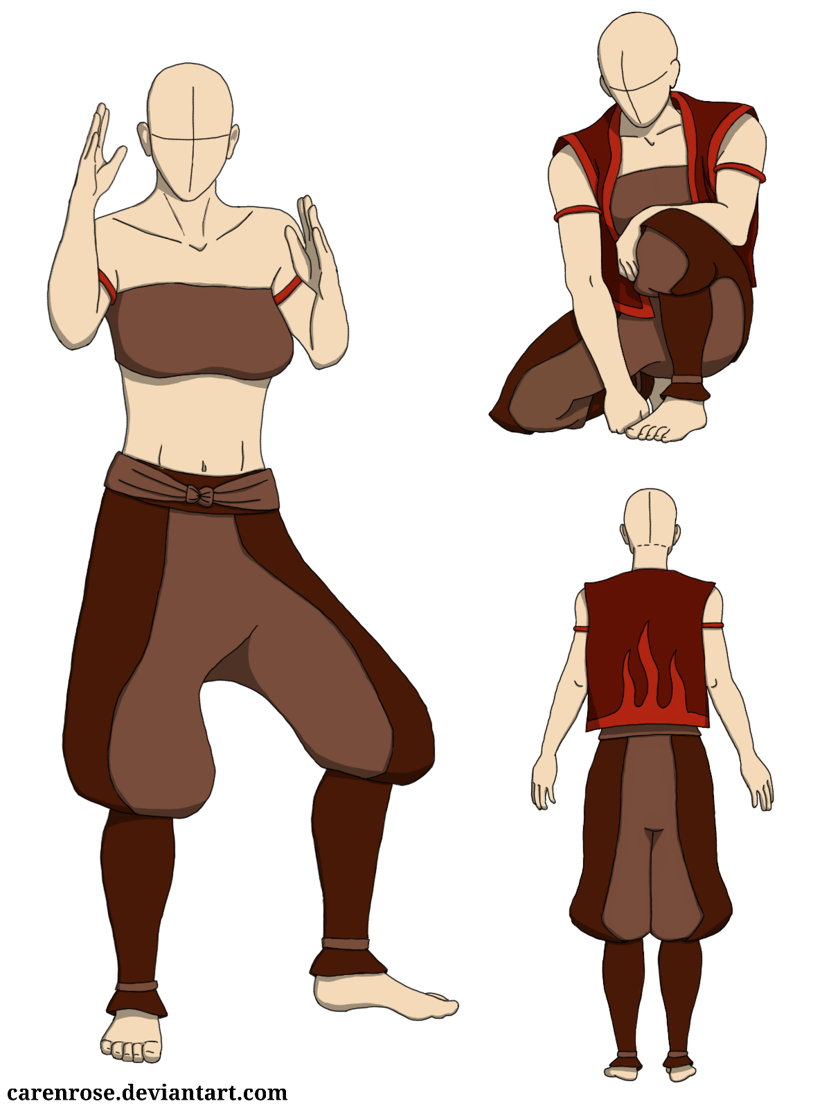 Female Agni Kai Clothing