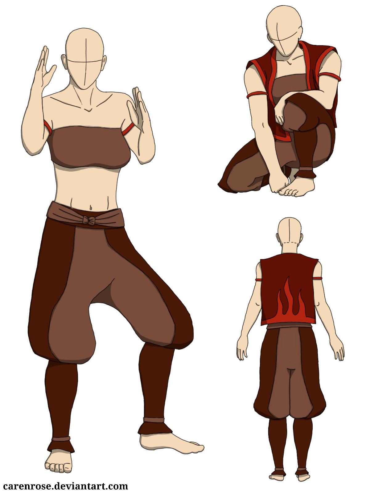 Female Agni Kai Clothing