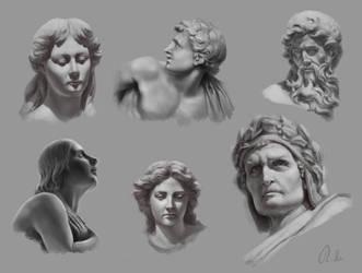 Statue studies