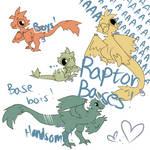 Chibi Raptor Bases - 250 Points (Widget works now)