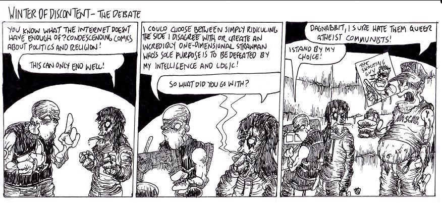 The Debate by MaestroMorte