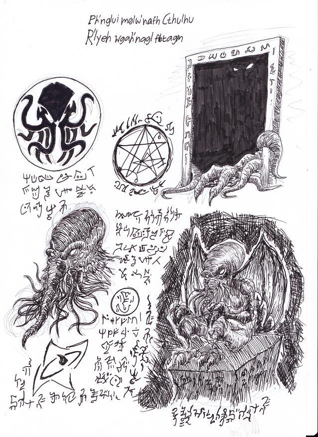 Necronomicon Fragment 1 by MaestroMorte