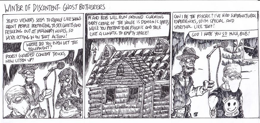 Ghost Botherers by MaestroMorte