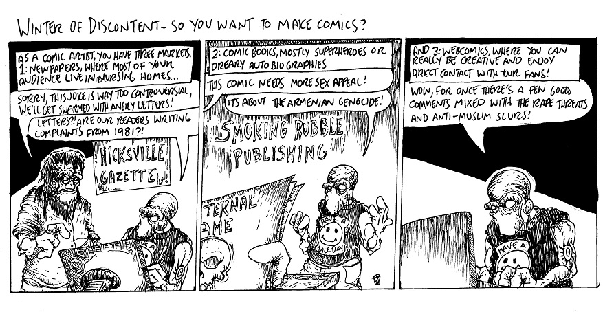 So You Want to Make Comics? by MaestroMorte