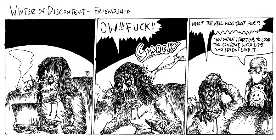 Friendship by MaestroMorte