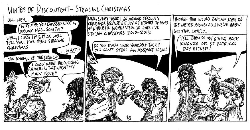 Stealing Christmas by MaestroMorte