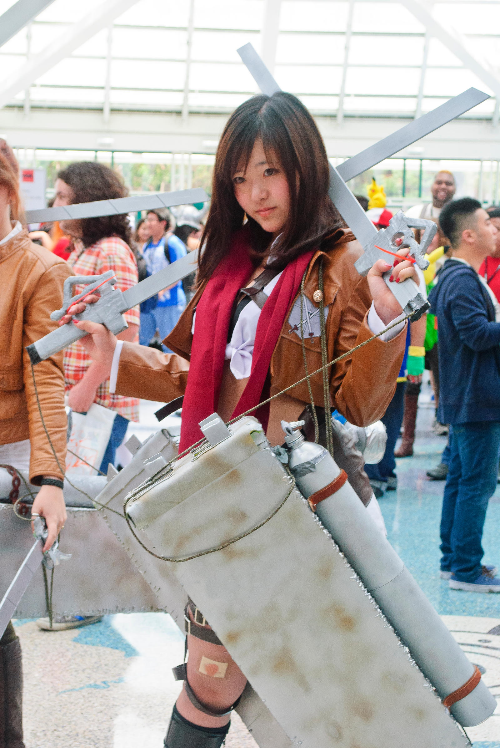 Anime Expo 2013 Cosplay - Attack On Titan by evanit0 on ...