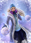 Snowday Syndra - League of Legends