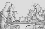 Tea Party with Reaper and Zed