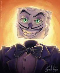 King Dice Painting