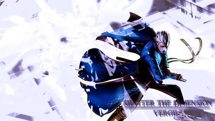 Umvc3:Vergil wallpaper V2 by LastBlues