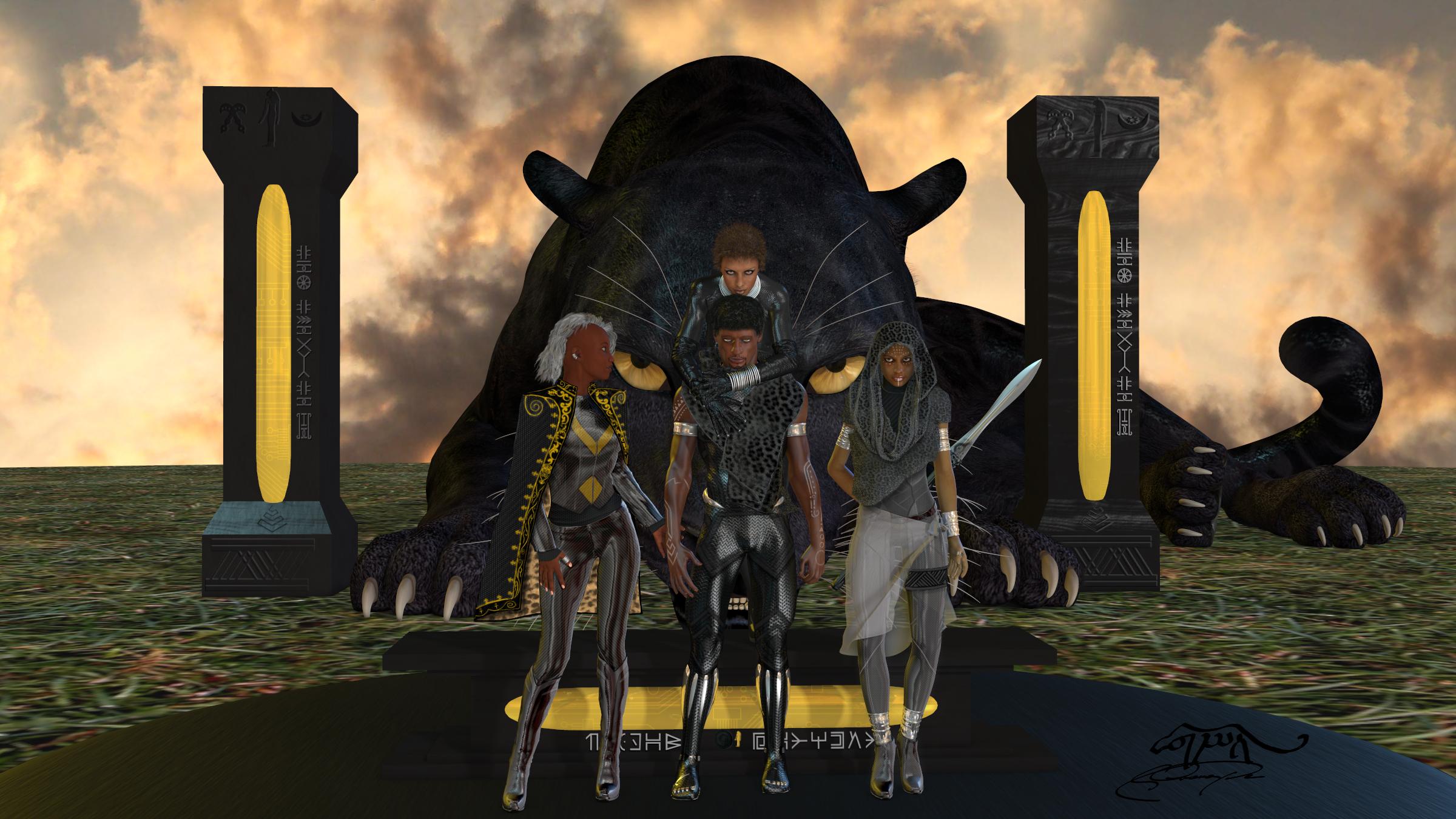 Black Panther By Portela On Deviantart: TheBLACK-PANTHER DeviantArt Gallery