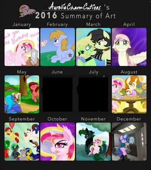 AureliaCCutiees 2016 Art Summary