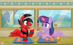 Lunch with Princess Twilight