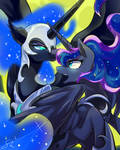 In the moonlight by SION-ARA