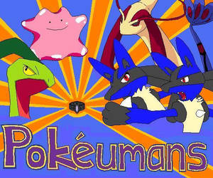 Pokeumans Poster by pokemonmanic3595