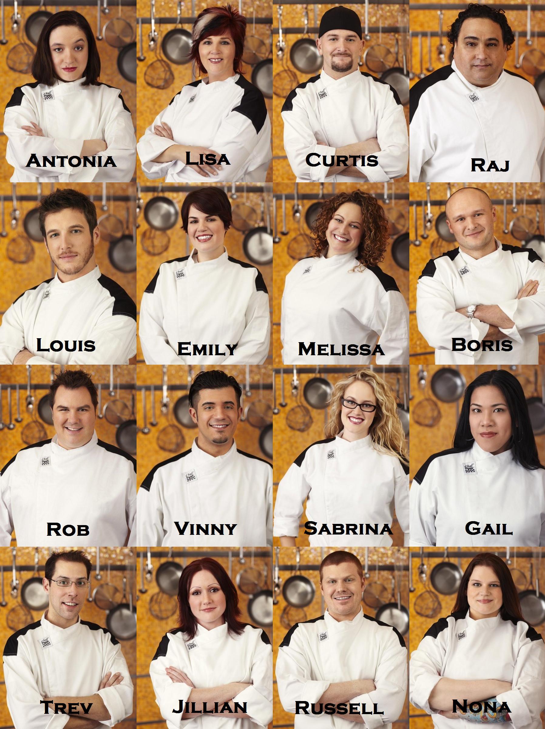 Hells Kitchen Season 6 Cast
