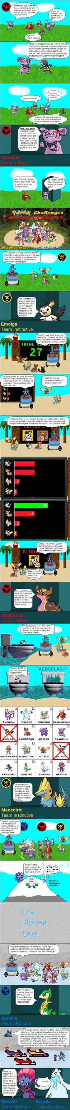 Pokemon Challenges Gen IV Ep 3 - Part 1 by pokemonmanic3595