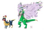 Commission .: Bug + Dragon :.