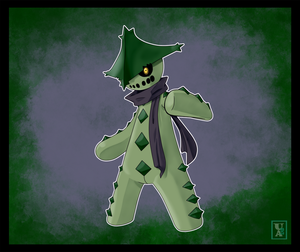 Commission .: Dark Cacturne :. by Icandoittoo on DeviantArt