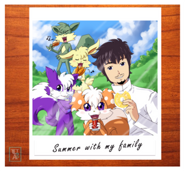 Commission .: Family photo :.